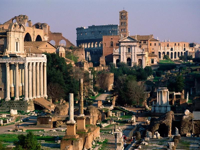 Исторический центр Рима