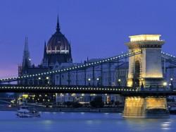 Будапешт (Венгрия) – Цепной мост Сечени