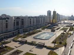 Астана - водно-зеленый бульвар