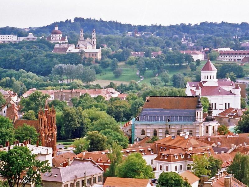 Вильнюс - древний город с