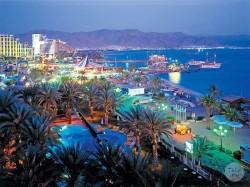 4.Эйлат (Израиль)- ночной город