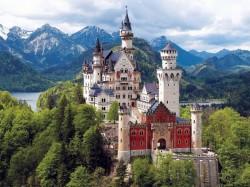 Нойшванштайн (Германия) - замок короля Людвига II Нойшванштайн