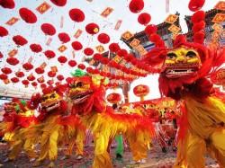 4. Празднование китайского нового года