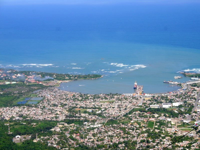 9ba3f5c95e2 Пуэрто-Плата (Доминикана) - панорама города ...