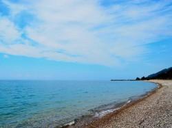 1. Гагра (Абхазия) - пляж