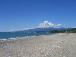 2. Сухум - пляж