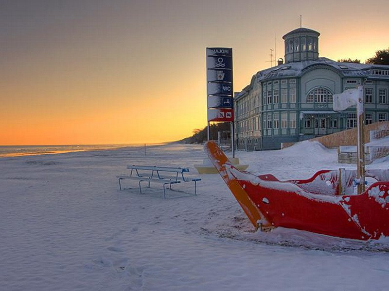 Погода в прибалтике летом