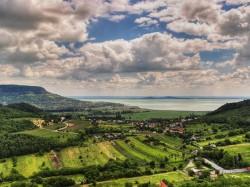 Балатон (Венгрия) - ландшафты вокруг озера Балатон