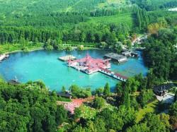 1. Хевиз (Венгрия) - панорама на озеро Хевиз