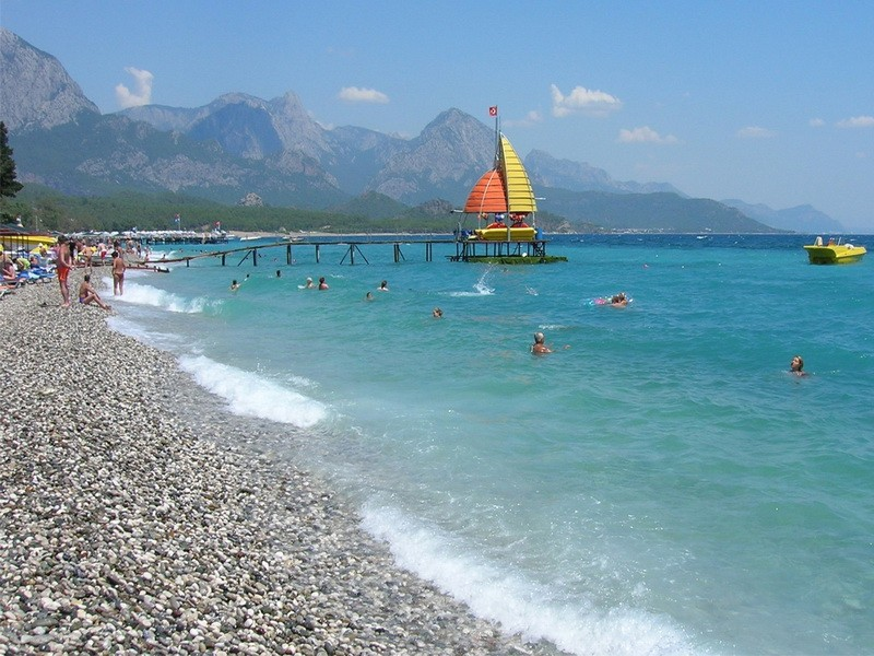 Пляжи в Кемере широкие
