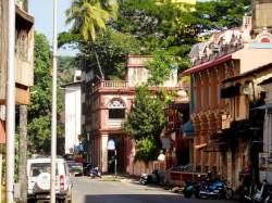 1. Гоа северный (Индия) -  улицами Панаджи