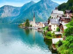 1. Австрия - деревня Хальштатт