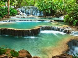 3.Лаос - водопад Куанг Си