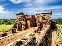Парагвай -  Миссия иезуитов Ла-Сантисима-Тринидад-де-Парана