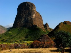 Эфиопия - горный парк Сэмен