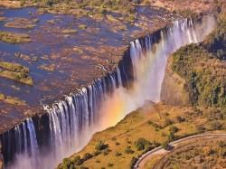 Замбия -  Водопад