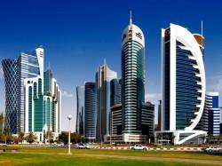 1. Катар - небоскребы Дохи