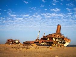 Мавритания - город-порт Нуадибу