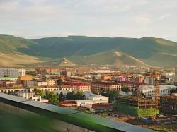 Монголия - город