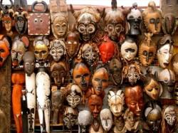 Кабо-Верде - Африканские маски