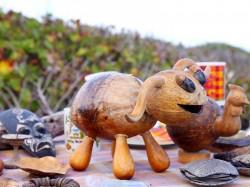 Гваделупа - Изделия из кокосовой скорлупы