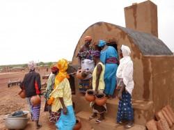 Буркина-Фасо - Изготовление горшков