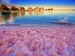 1. Бермудские острова - пляж из розового песка