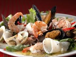 Каймановы острова - блюдо из морепродуктов