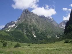 1. Абхазія — г. Дамбай-Ульген