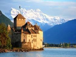 1. Швейцария - Шильонский замок