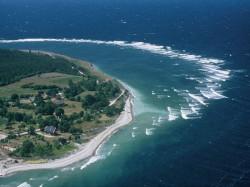 . Эстония - Побережье Балтийского моря в Саремаа