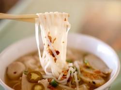 1. Тайланд - суп со стеклянной лапшой