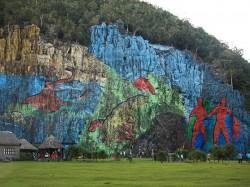 2. Куба - гигантская «доисторическая фреска» художника Леовихильдо Гонсалеса