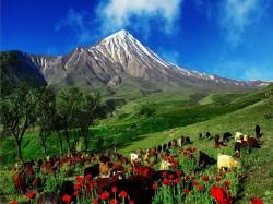 2. Иран - вулкан Демавенд