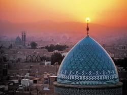 2. Иран - вид на Тегеран