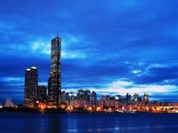 2. Корея Южная - небоскребы Сеула