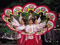 1. Корея Южная - народные танцы