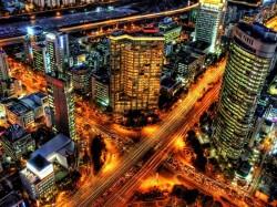 1. Корея Южная - ночной Сеул
