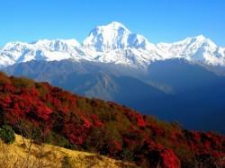 2. Непал - Вид на горы