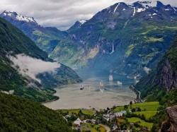 1. Норвегия - Фьорды