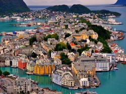 1. Норвегия - Олесунн