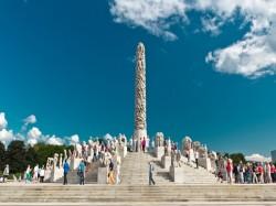 1. Норвегия - Парк скульптур Вигеланда