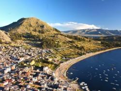 3. Перу - озеро Титикака