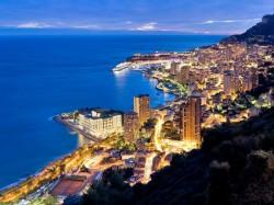 2. Монако - вечерний Монако