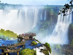 Уругвай - Водопады Игуасу