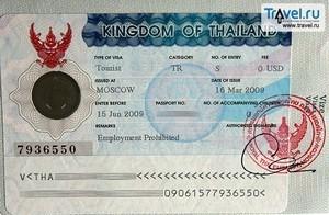 С 11 декабря 2017 года подать документы на визу в Таиланд можно в Минске