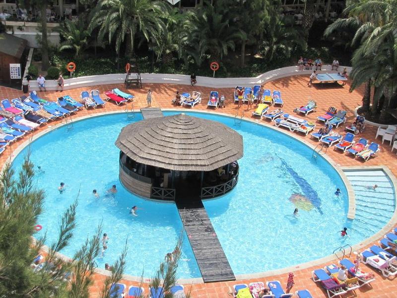 Испания ла пинеда отель эстиваль парк