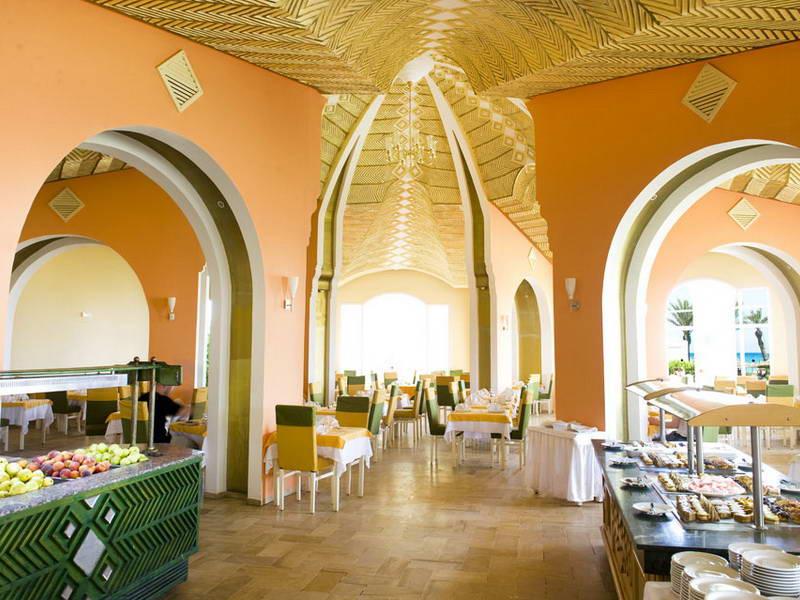 Thapsus Club Hotel 4 МахдияТунис  отзывы и цены на туры